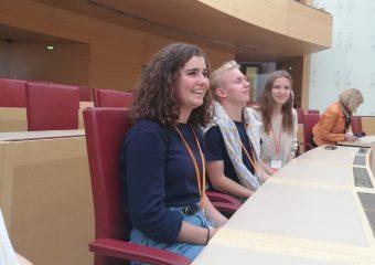 v.l. Anne Mäckler, Tilman Kerber, Stefanie Schnellbach
