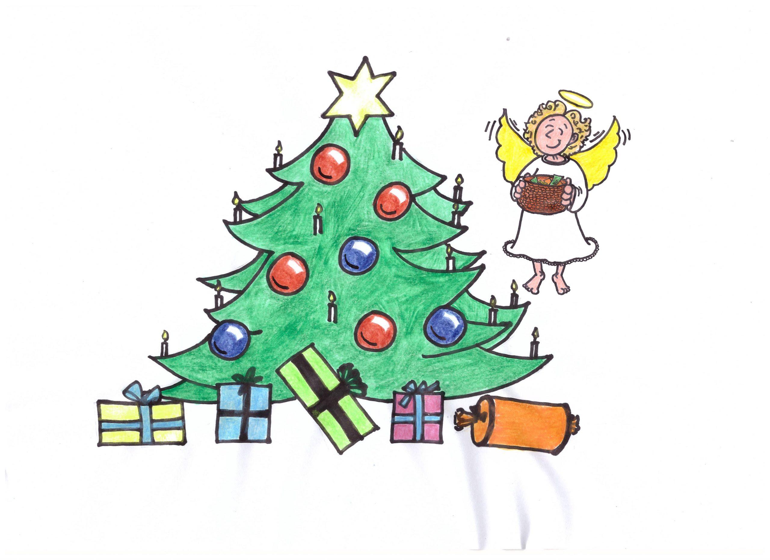 Weihnachtsbaum+digitales+Weihnachtskonzert