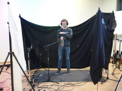 Digitales Weihnachtskonzert 1 - Aufnahme Percussion