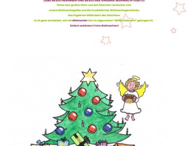 Digitales Weihnachtskonzert 11 - Interaktiver Weihnachtsbaum